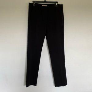 Black Michael Kors straight leg dress pants